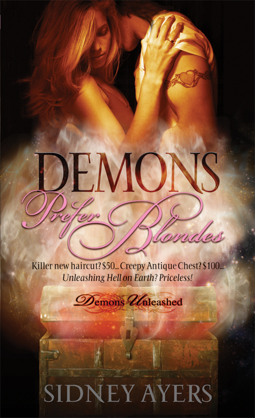 Contest Winners – Demons Prefer Blondes